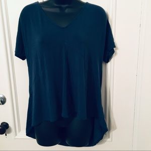Lucy Oversized Open Back Top Tee